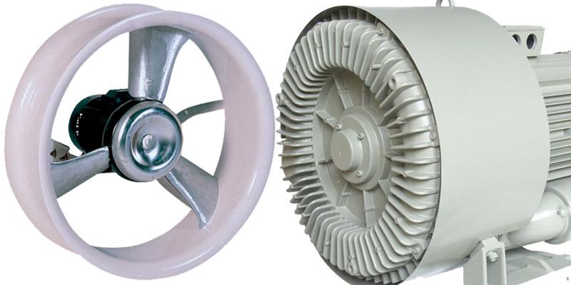 Ventilateurs - Pompes à vide